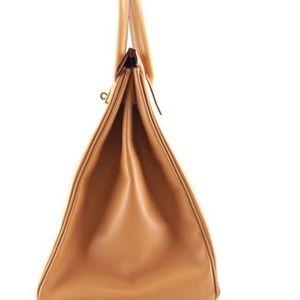 e0ea731a5424 Hermes Bags - Birkin 40cm Ghw Natural Courchevel Leather Satchel